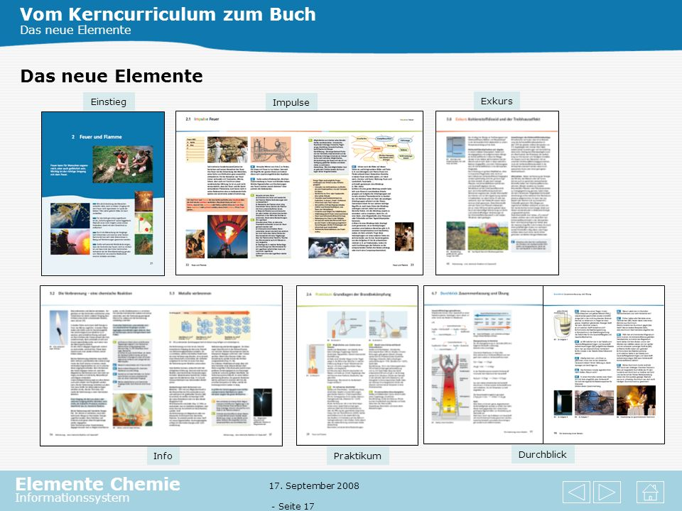 Vom Kerncurriculum zum Buch