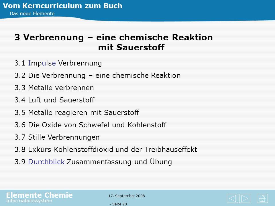 3 Verbrennung – eine chemische Reaktion mit Sauerstoff