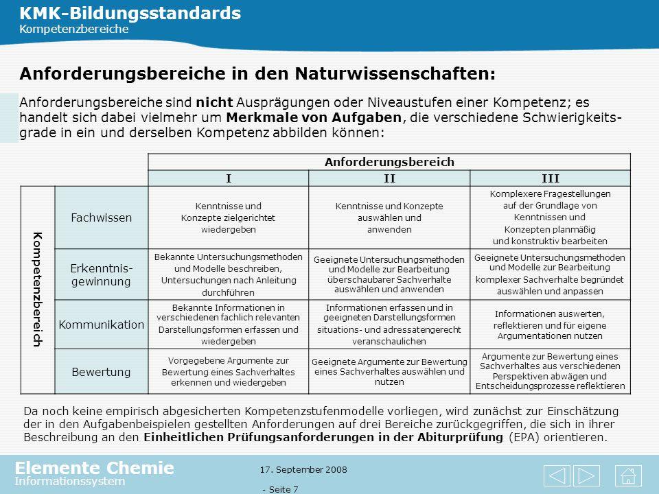 KMK-Bildungsstandards
