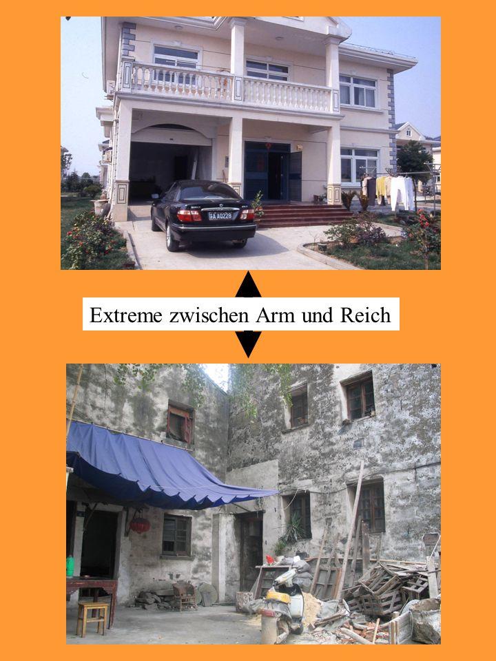 Extreme zwischen Arm und Reich