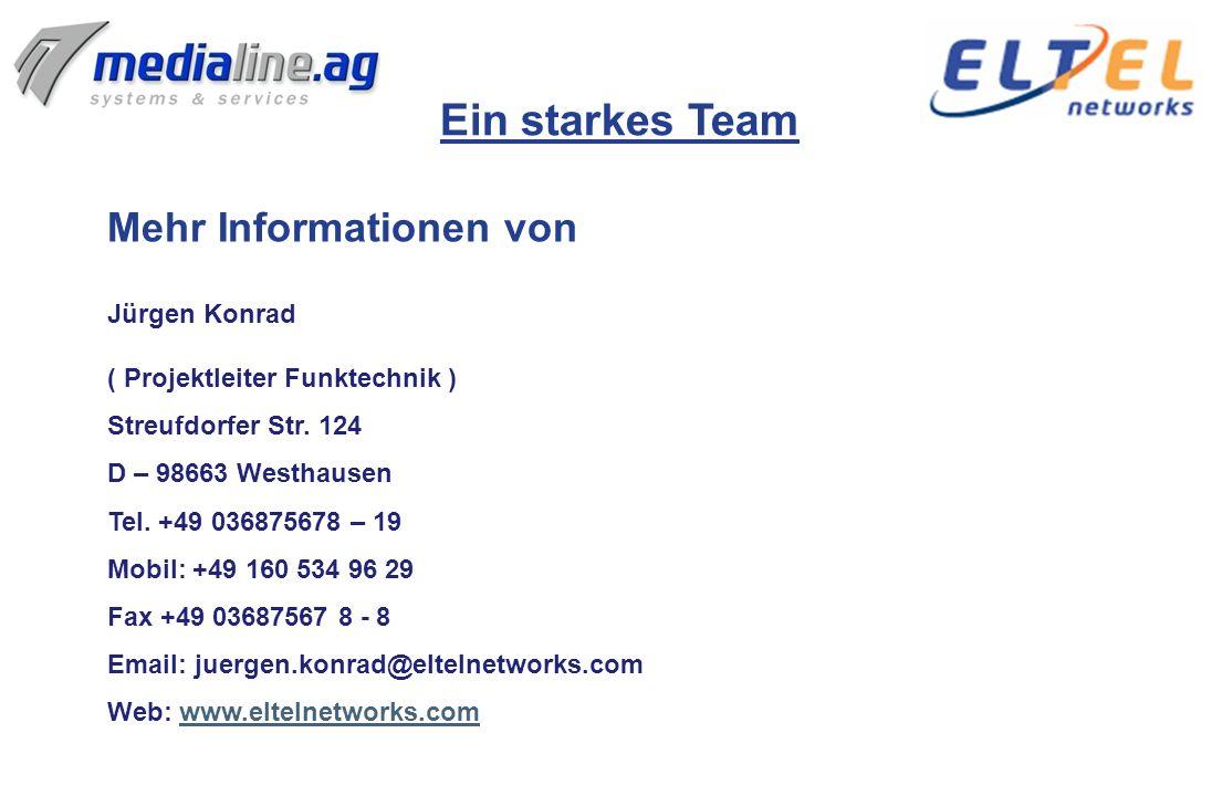 Ein starkes Team Mehr Informationen von Jürgen Konrad
