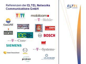 Entgraten Referenzen der ELTEL Networks Communications GmbH Vakuum-