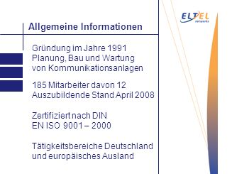 Allgemeine Informationen