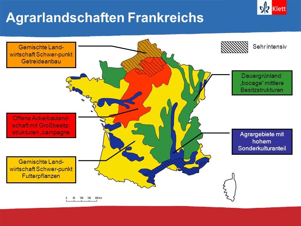 Agrarlandschaften Frankreichs