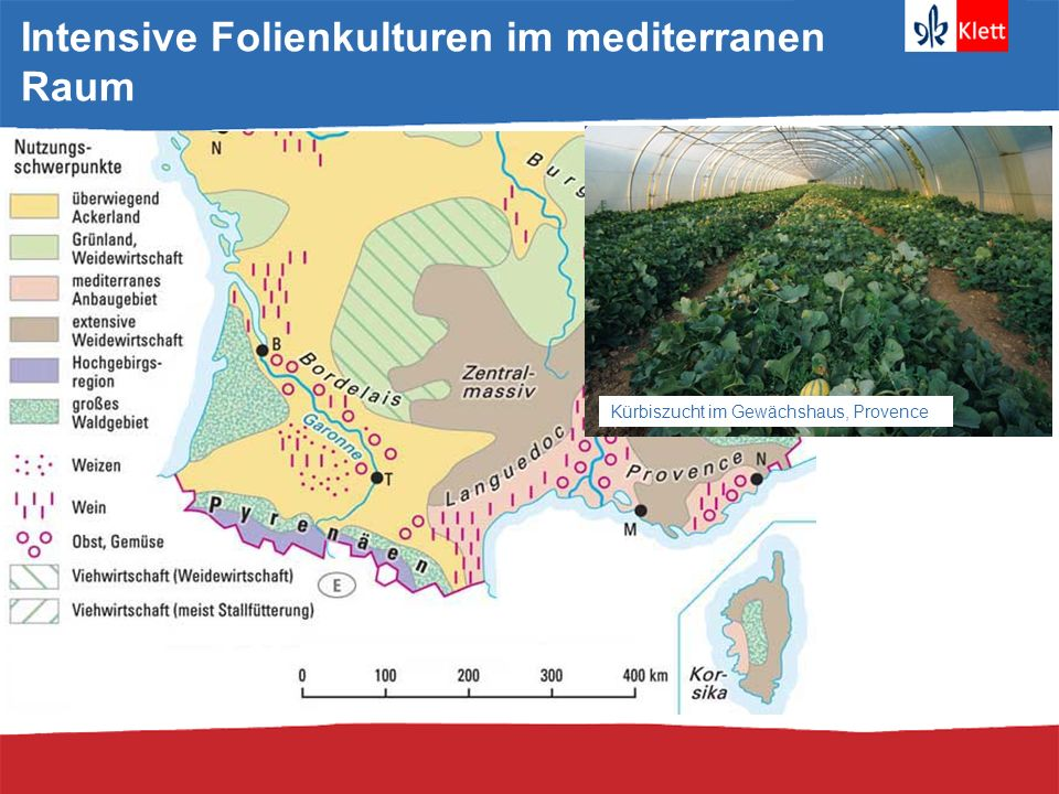 Intensive Folienkulturen im mediterranen Raum