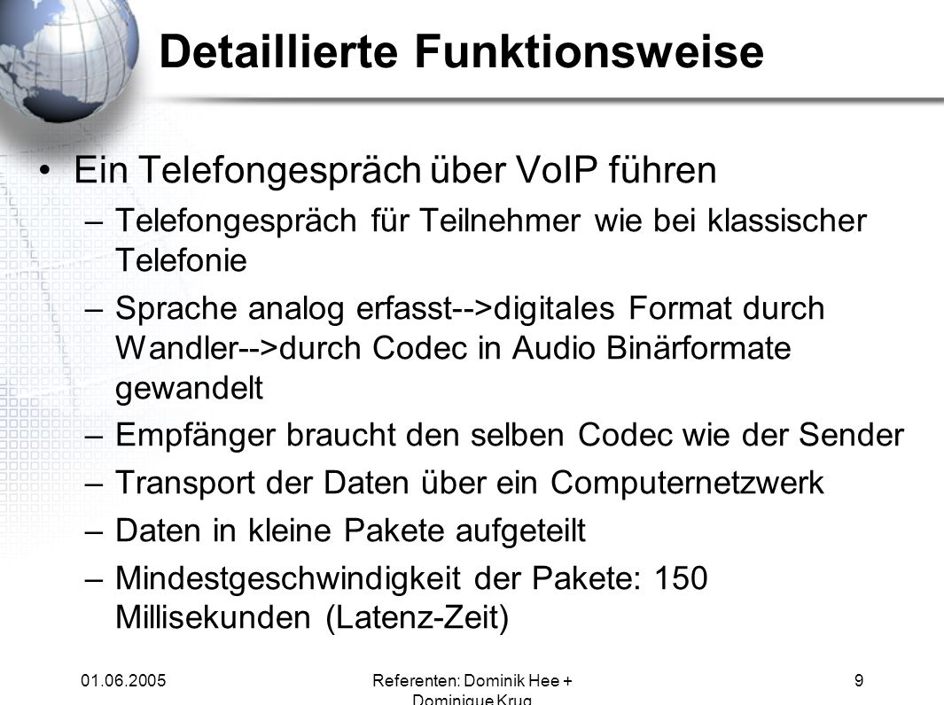 Detaillierte Funktionsweise
