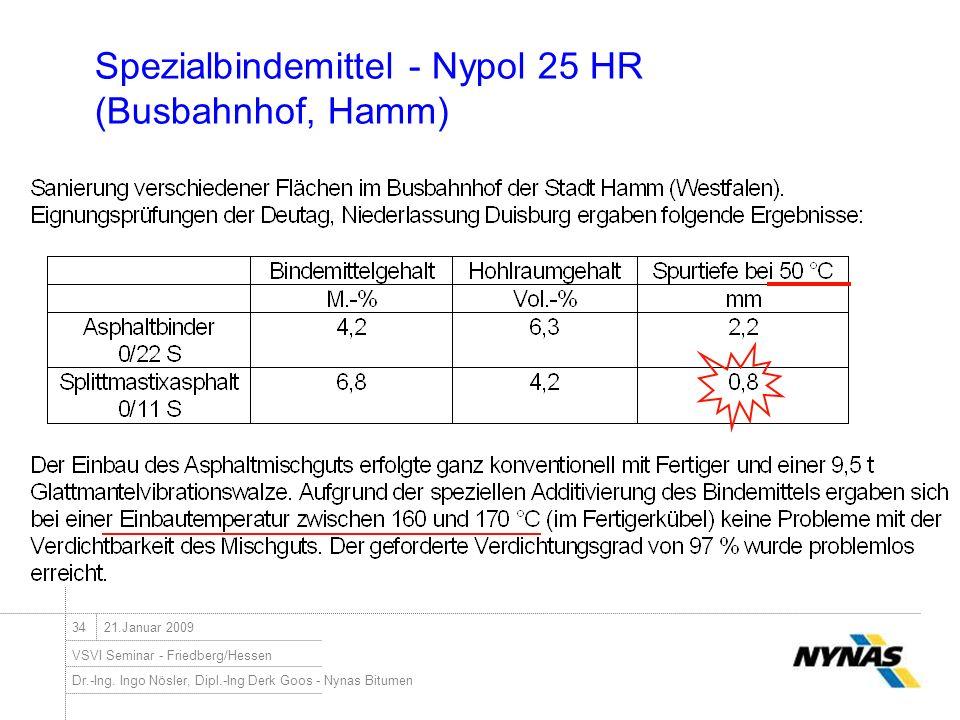 Spezialbindemittel - Nypol 25 HR (Busbahnhof, Hamm)