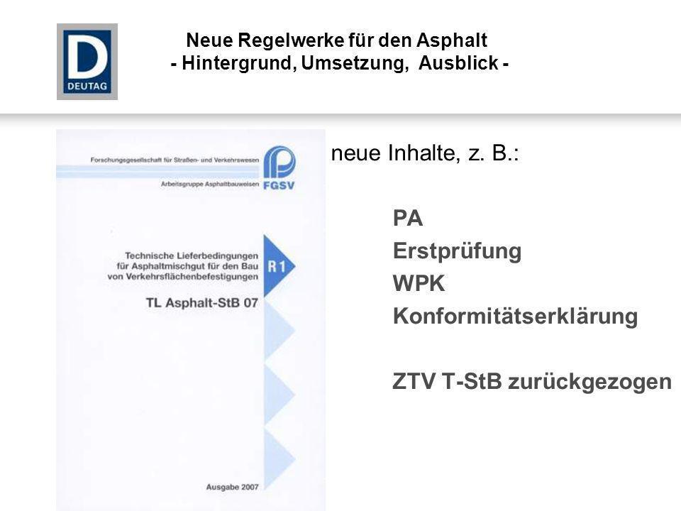 Konformitätserklärung ZTV T-StB zurückgezogen