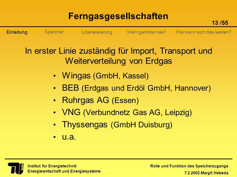 Ferngasgesellschaften