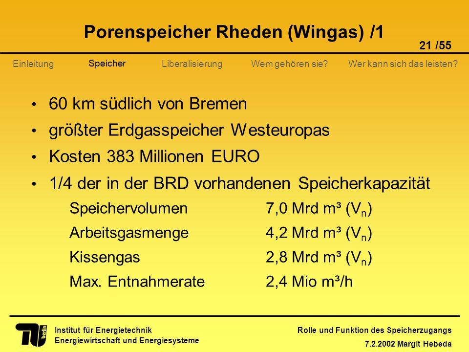 Porenspeicher Rheden (Wingas) /1