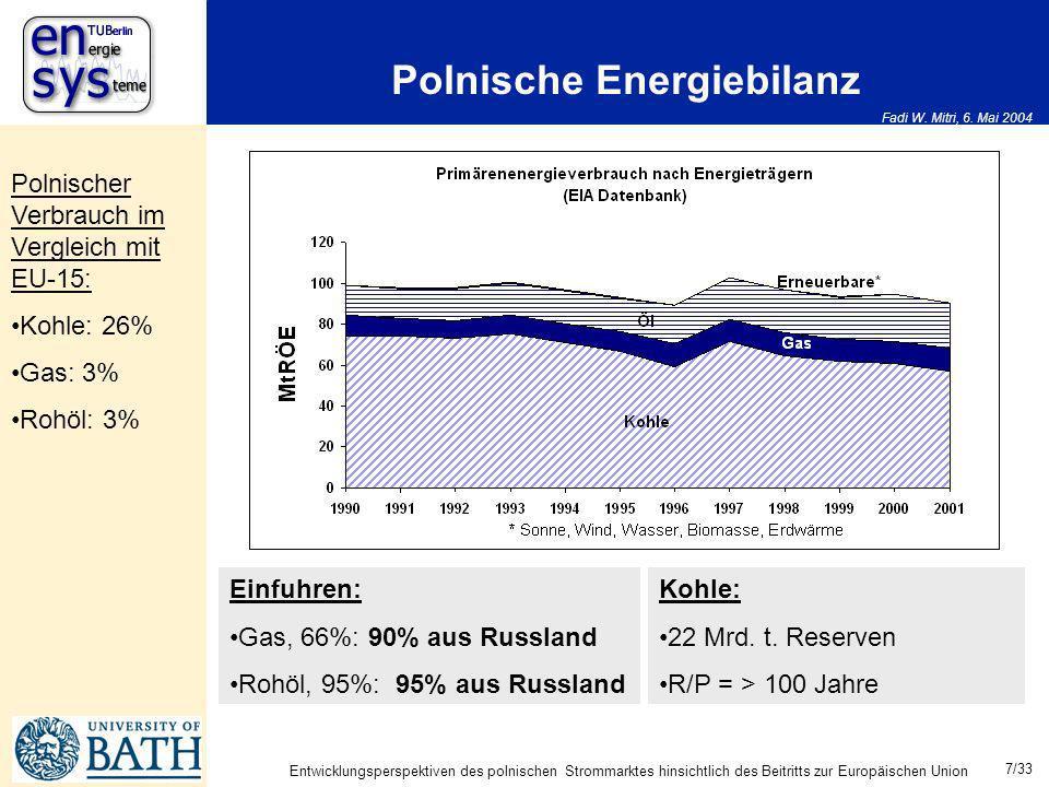 Polnische Energiebilanz
