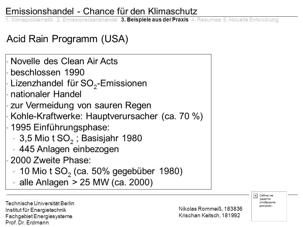 Acid Rain Programm (USA)