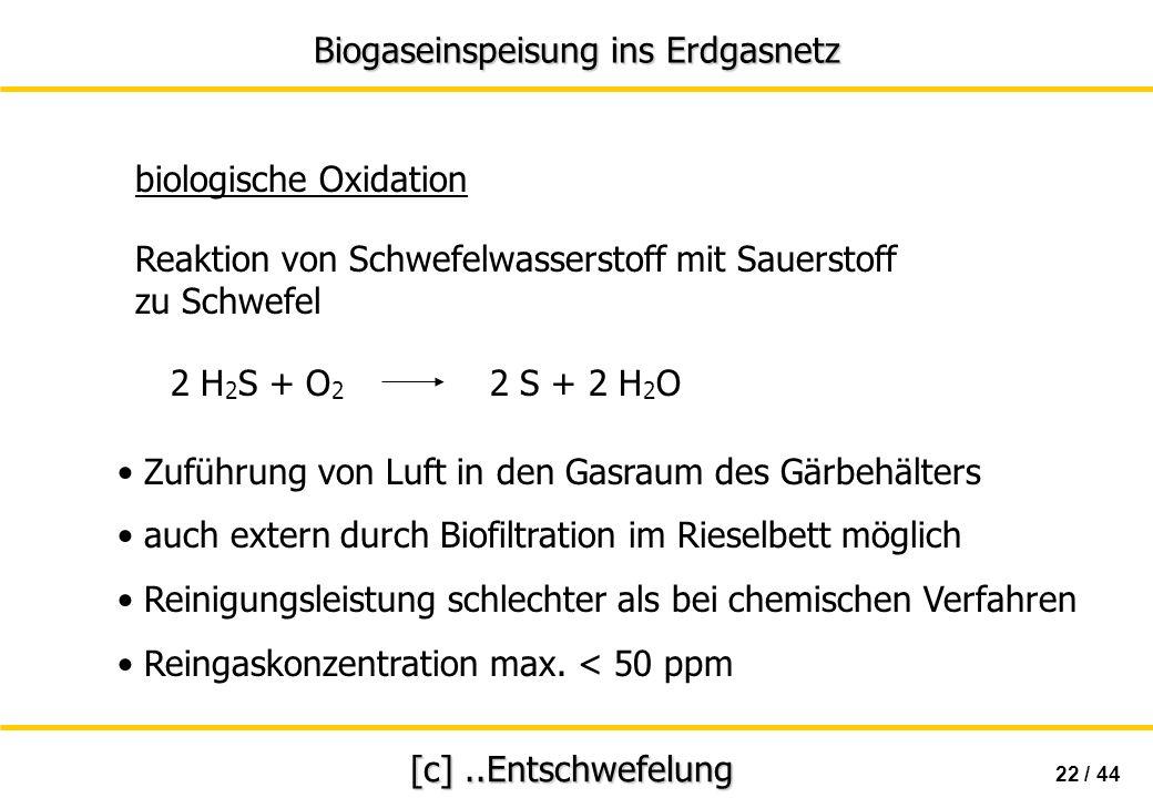 biologische Oxidation