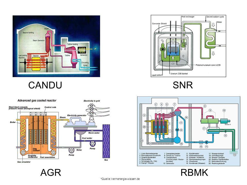 CANDU SNR AGR RBMK *Quelle: kernenergie-wissen.de