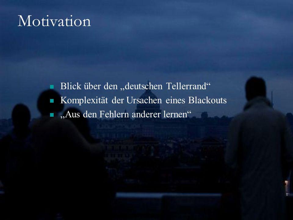 """Motivation Blick über den """"deutschen Tellerrand"""