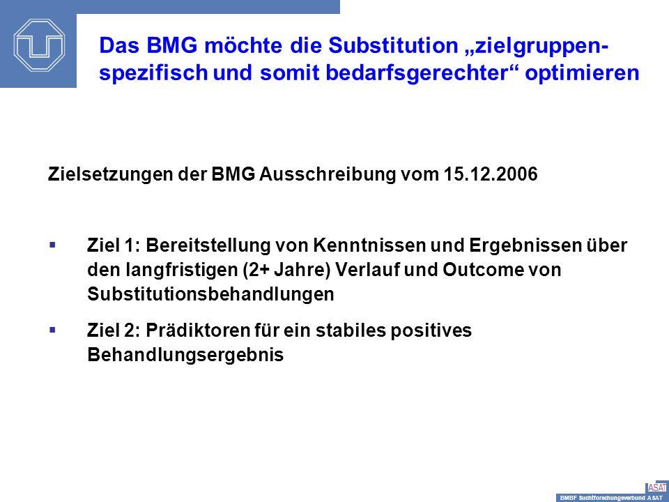 """Das BMG möchte die Substitution """"zielgruppen-spezifisch und somit bedarfsgerechter optimieren"""