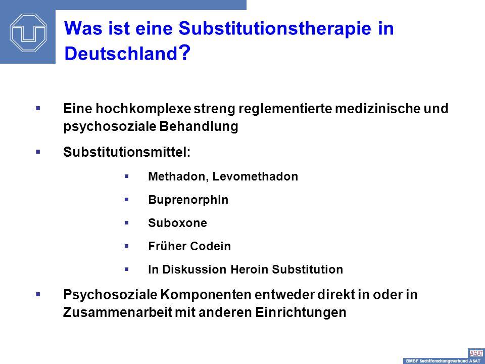 Was ist eine Substitutionstherapie in Deutschland