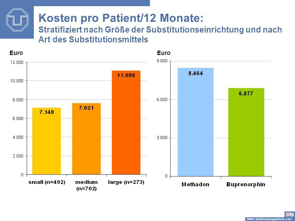 Kosten pro Patient/12 Monate: