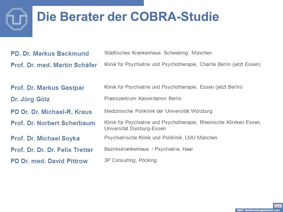 Die Berater der COBRA-Studie