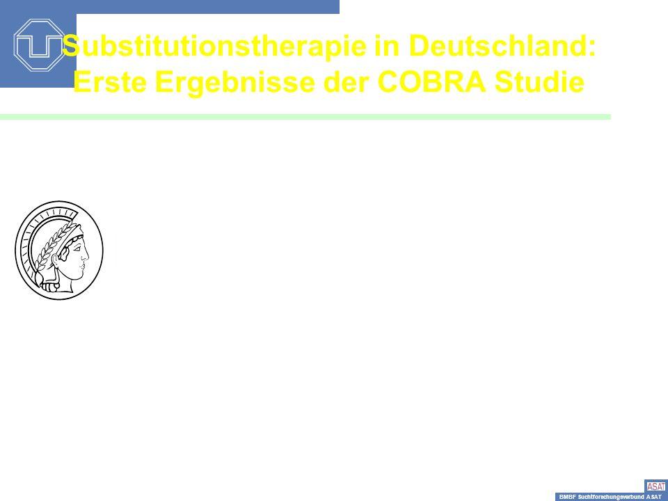 Substitutionstherapie in Deutschland: Erste Ergebnisse der COBRA Studie