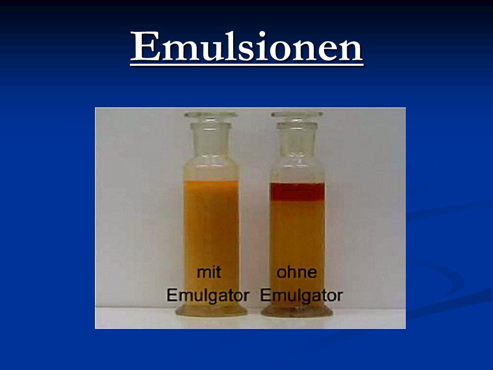 Emulsionen