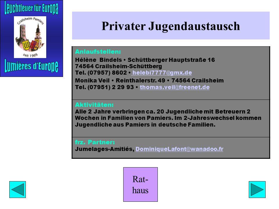 Privater Jugendaustausch