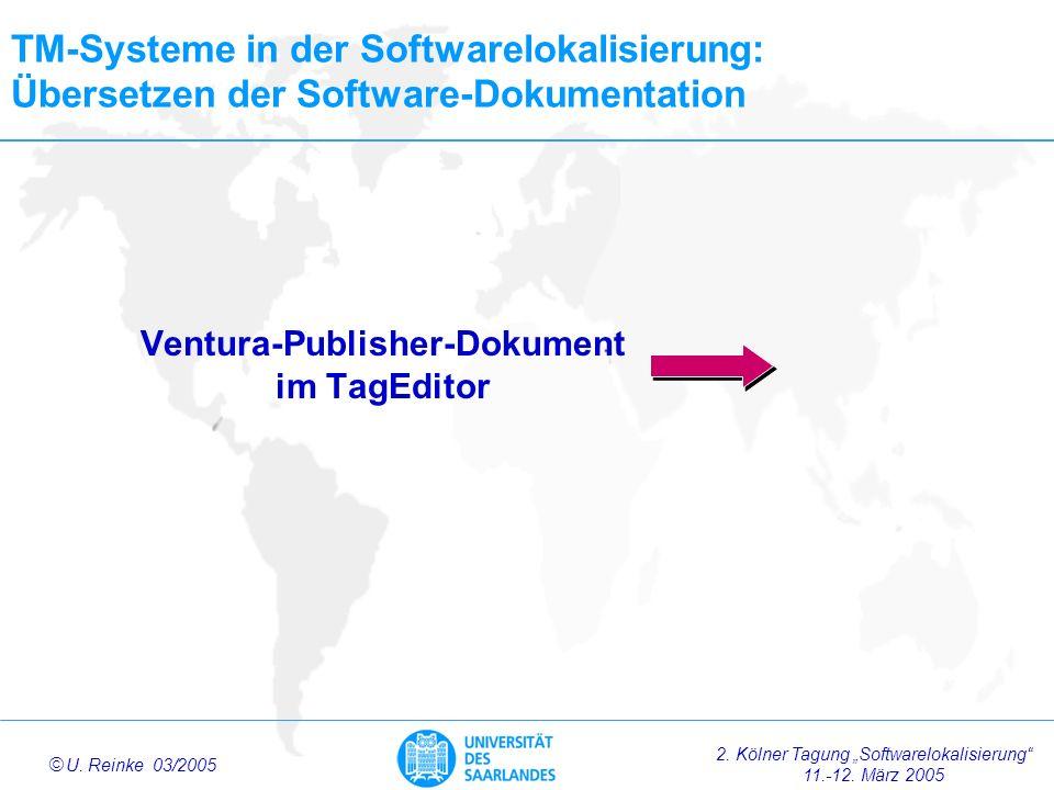 Ventura-Publisher-Dokument im TagEditor
