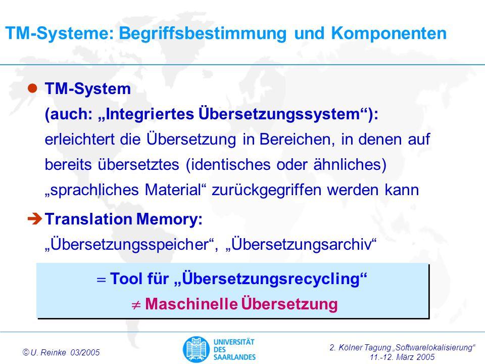 TM-Systeme: Begriffsbestimmung und Komponenten