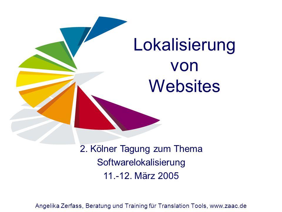 Lokalisierung von Websites