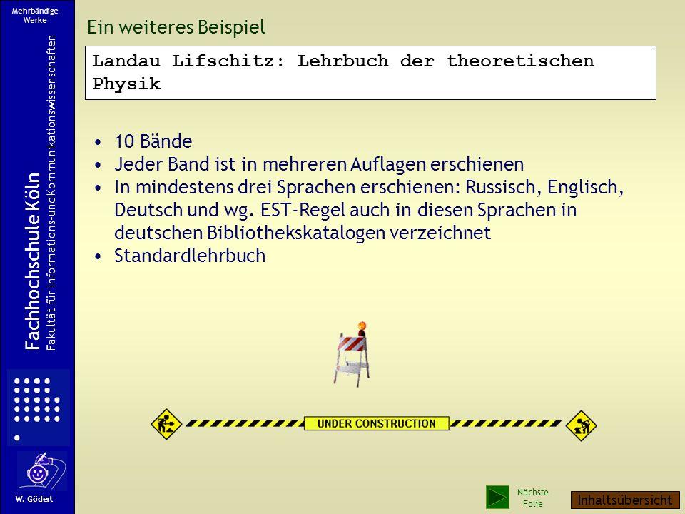 Landau Lifschitz: Lehrbuch der theoretischen Physik