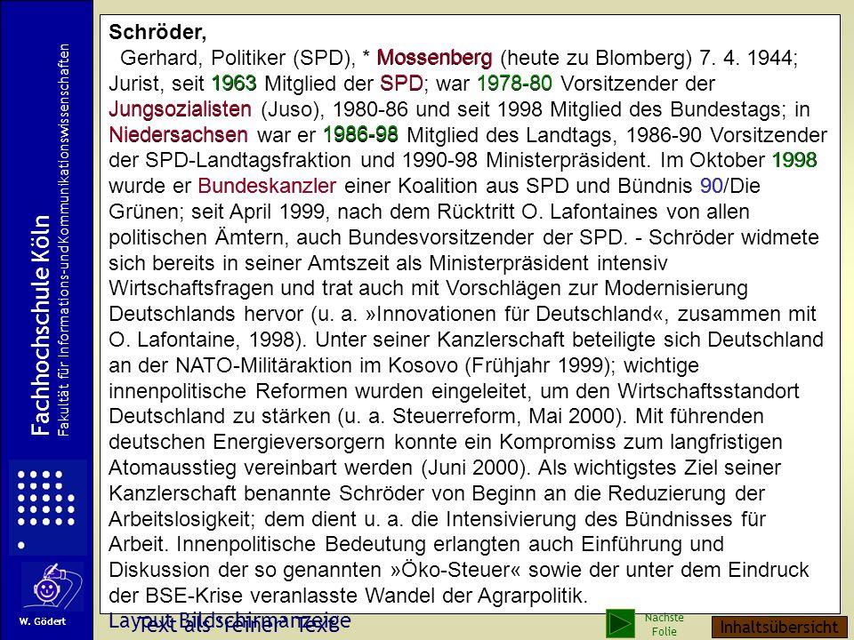 Beispiel: Artikel einer Allgemeinenzyklopädie (Brockhaus 2002)