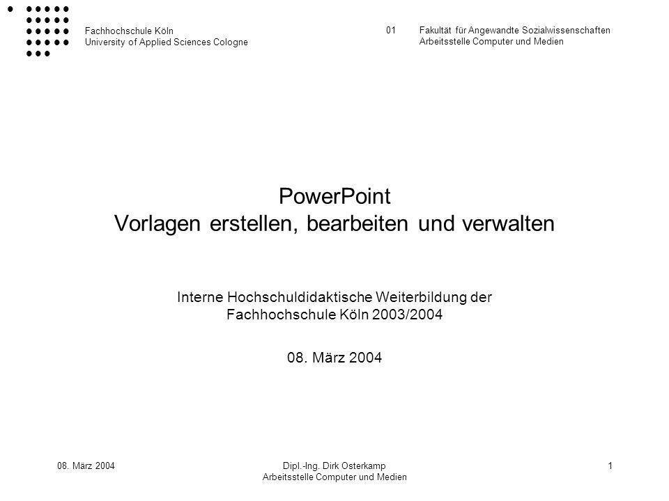 PowerPoint Vorlagen erstellen, bearbeiten und verwalten