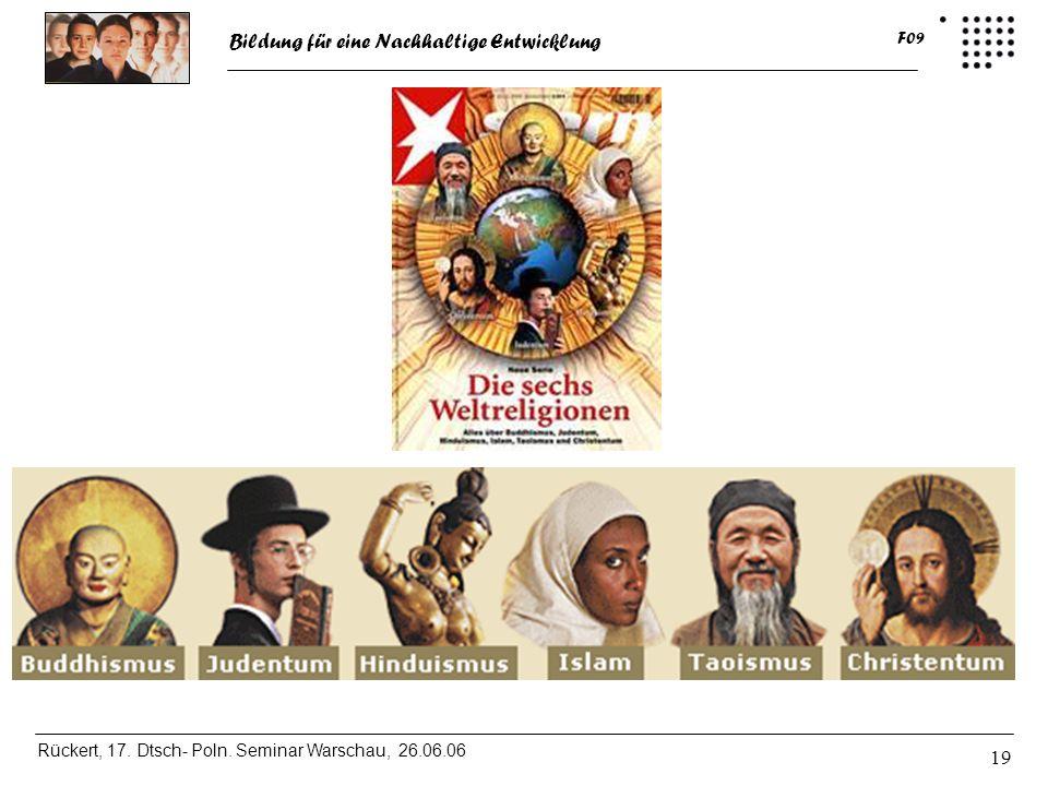Weltanschauliche/ religiöse Betrachtung wichtig, stößt auf großes Interesse der Studierenden