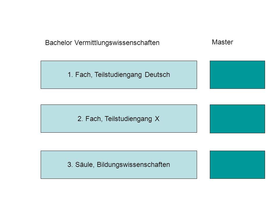 Bachelor Vermittlungswissenschaften Master