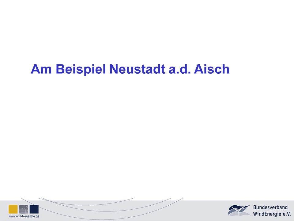 Am Beispiel Neustadt a.d. Aisch