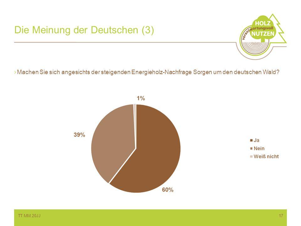 Die Meinung der Deutschen (3)