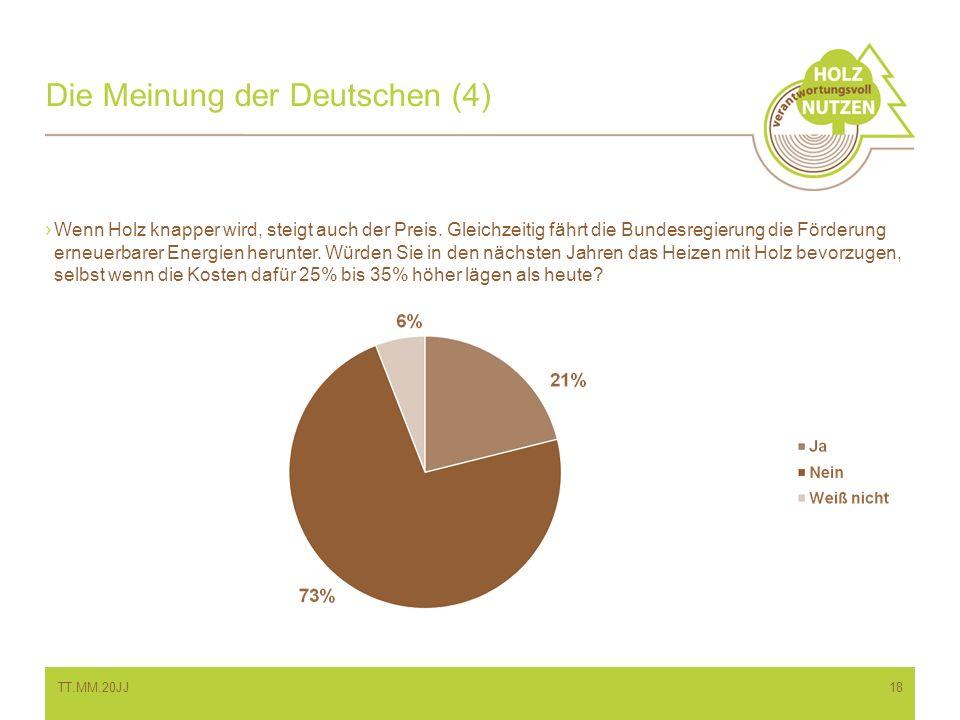Die Meinung der Deutschen (4)