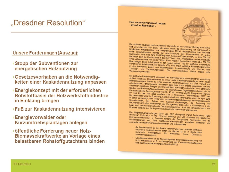 """Dresdner Resolution"