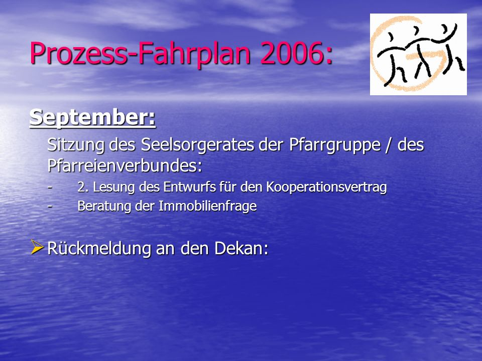 Prozess-Fahrplan 2006: September: