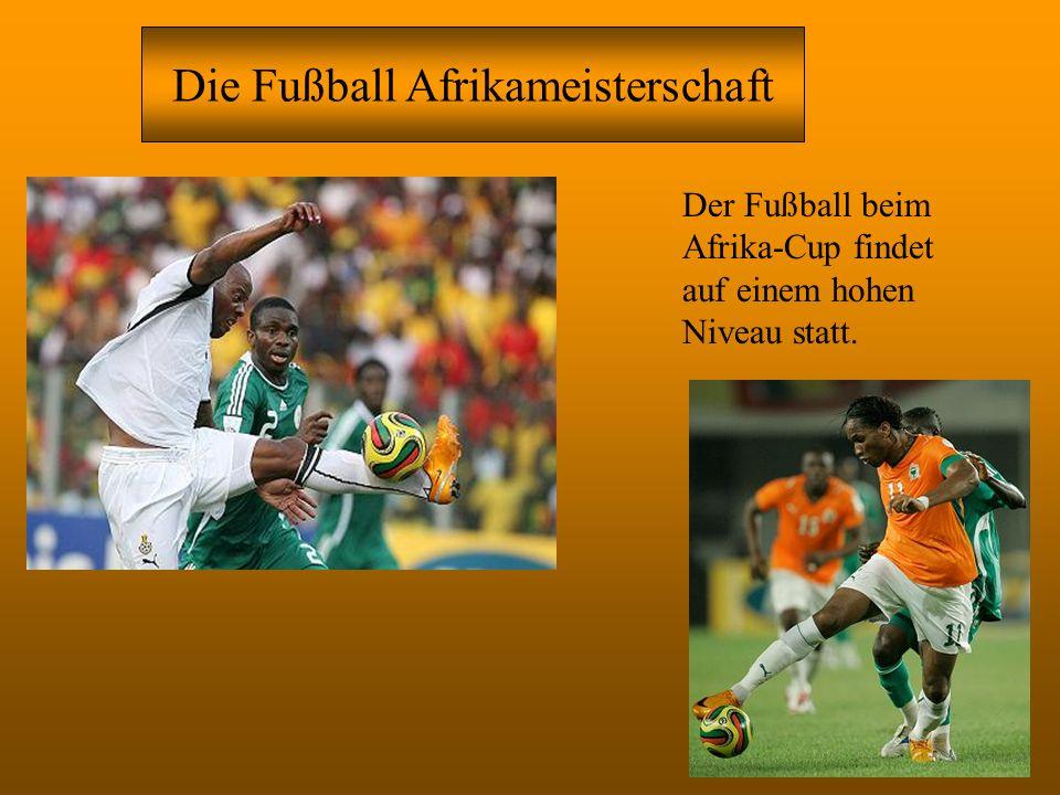 Die Fußball Afrikameisterschaft
