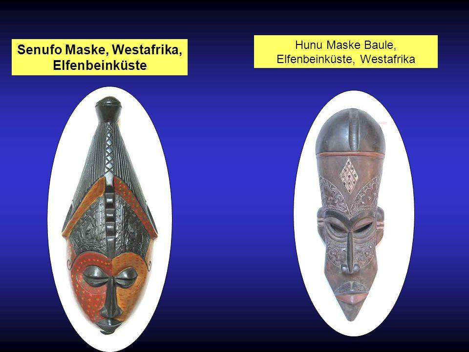 Senufo Maske, Westafrika, Elfenbeinküste