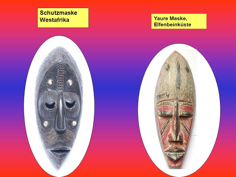 Schutzmaske Westafrika