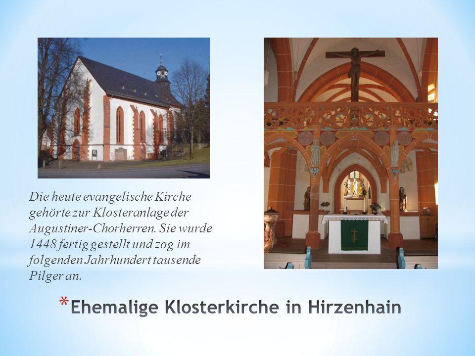 Ehemalige Klosterkirche in Hirzenhain