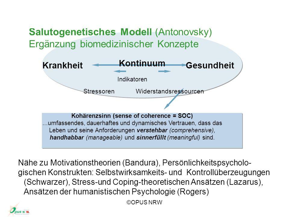 Kohärenzsinn (sense of coherence = SOC)
