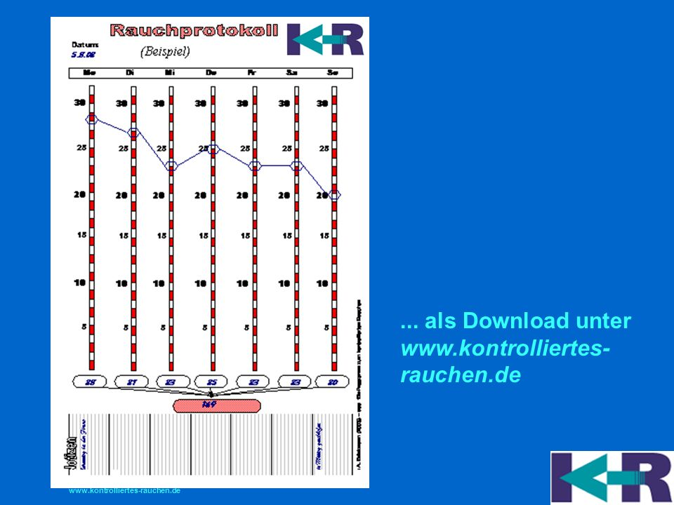 ... als Download unter www.kontrolliertes- rauchen.de