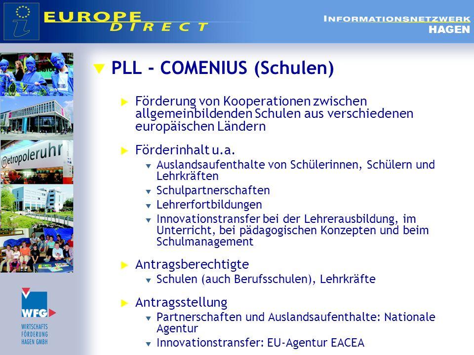 PLL - COMENIUS (Schulen)