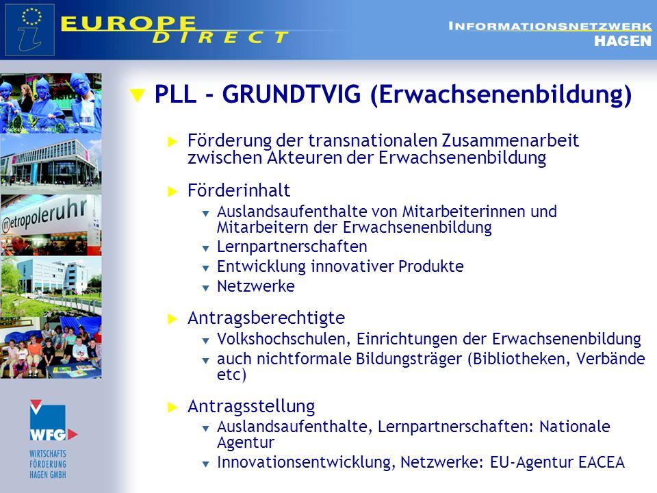PLL - GRUNDTVIG (Erwachsenenbildung)