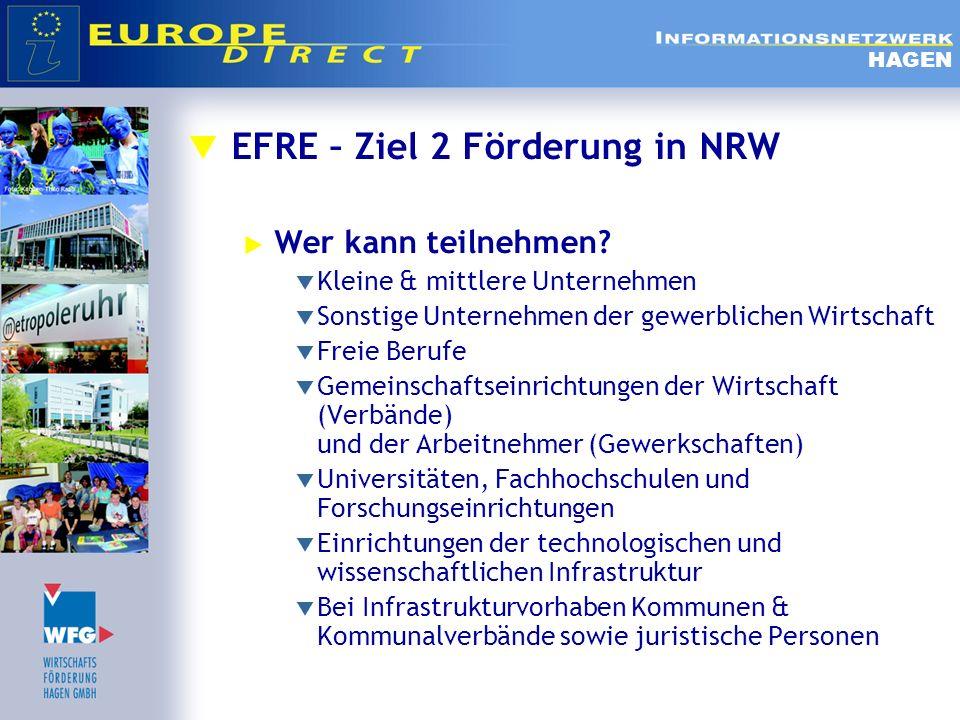 EFRE – Ziel 2 Förderung in NRW
