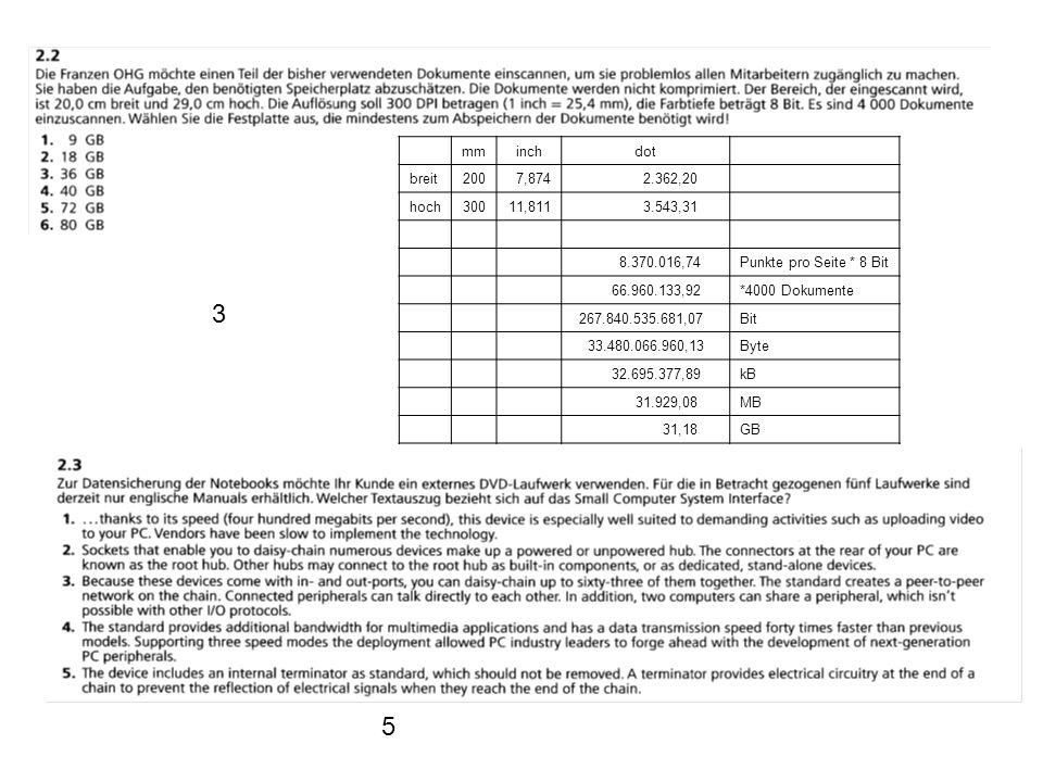 mm. inch. dot. breit. 200. 7,874. 2.362,20. hoch. 300. 11,811. 3.543,31. 8.370.016,74. Punkte pro Seite * 8 Bit.