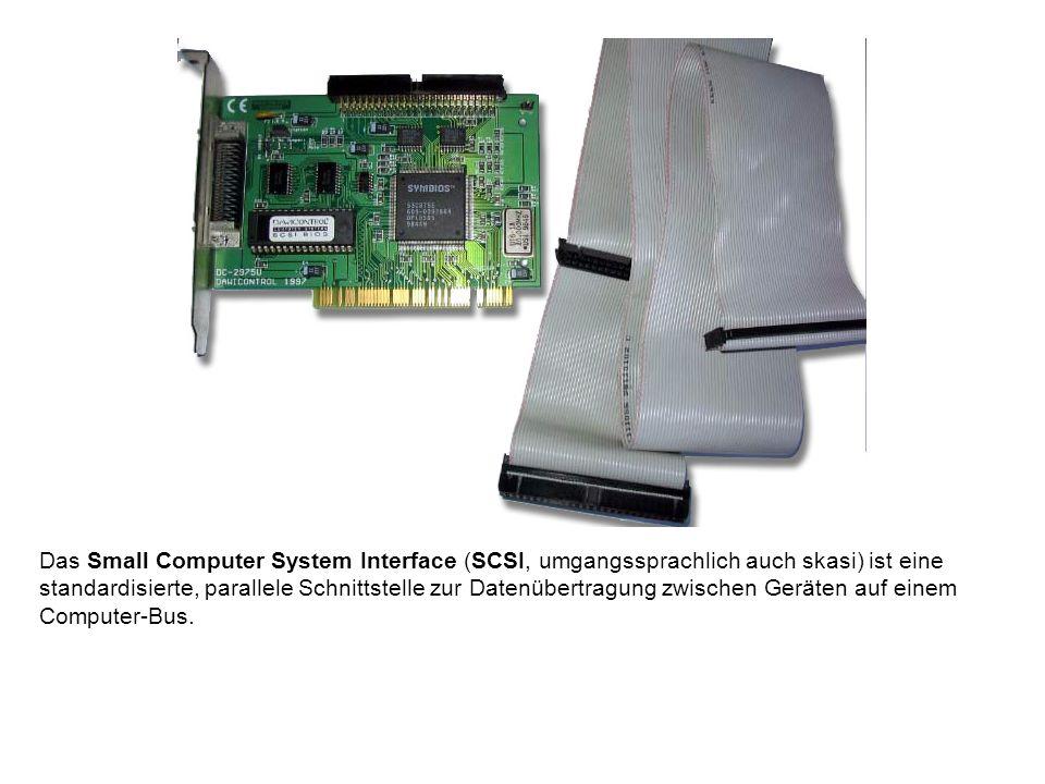 Das Small Computer System Interface (SCSI, umgangssprachlich auch skasi) ist eine standardisierte, parallele Schnittstelle zur Datenübertragung zwischen Geräten auf einem Computer-Bus.